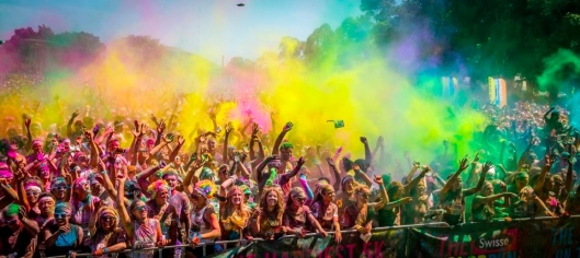 Image Borrowed from the Color Run Facebook Page