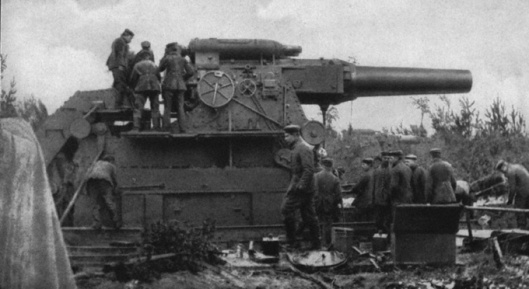 Big Bertha WWI German Cannon