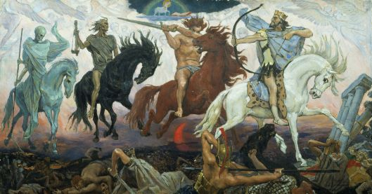 The 4 Horsemen of the Apocalypse (Viktor M. Vasnetsov)