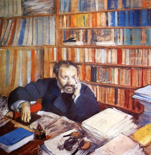 Edgar Degas' Portrait of Duranty