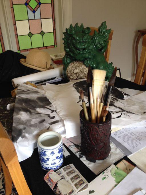 Calligraphy Brush Pot