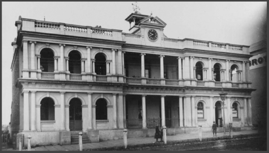 Orange PO and Lands Office