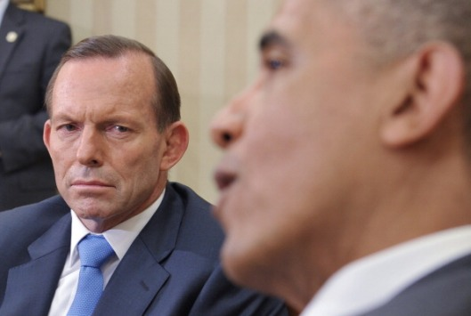 US-AUSTRALIA-DIPLOMACY-OBAMA-ABBOTT