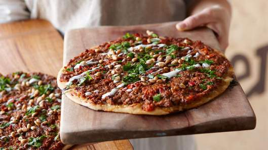 Lahmacun-(turkish-pizza) Courtesy: SBS Food
