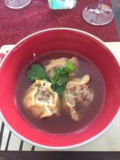 Vivs pork dumplings