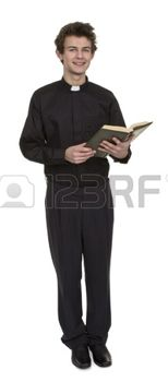 20020071-young-priest-holding-bible-over-white-background