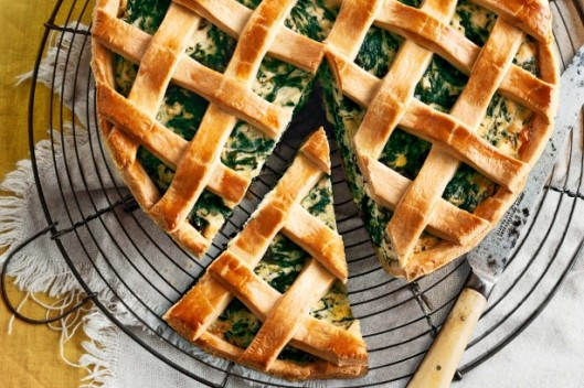 Spinach and Lamb Pie Thanks to taste.com.au for the picture